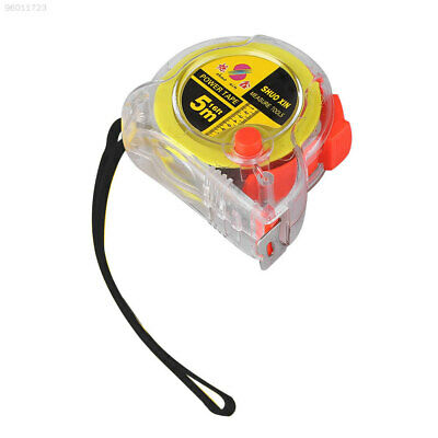 BB62 17E0 5m Steel Measure Retractable Rule Transparent Portable For Working Man