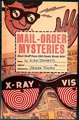 Mail Order Mysteries Book Kirk Demarais Old Comic Book Adverts Insight Humor