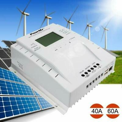 40A 60A 80A MPPT Solar Charger Controller for12V/24V PV100V DC Battery Regulator