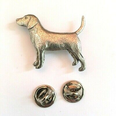 Bernese Mountain Dog Badge Pin Brooch in Copyrighted Antiqued Pewter Gifts