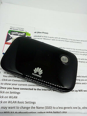 HUAWEI E5776 4G LTE 3G MiFi Wireless Hotspot Modem Mobile Broadband -  Unlocked