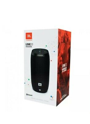 JBL Link 10 NEW Voice Activated Smart Portable Bluetooth Speaker Black Wireless