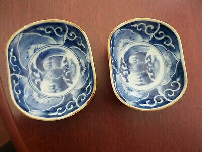 2 Antique Chinese rice bowls