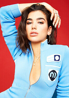Dua Lipa Poster NEW 2019 UK Music Star Hit New Rules, FREE P+P, CHOOSE YOUR SIZE