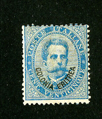 Eritrea Stamps # 6 Fresh OG Hinged Rare Scott Value $1,450.00