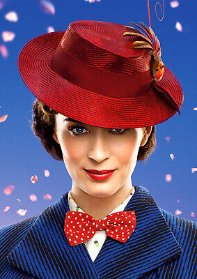 Mary Poppins Returns Poster NEW Film 2019 Emily Blunt FREE P+P, CHOOSE YOUR SIZE