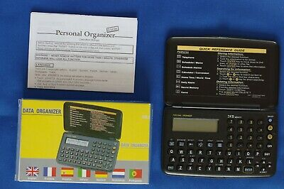 Personal Electronic Data Organizer with 3Kb of memory, box and instructions