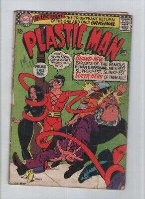 Plastic Man (1966) # 1 - Dc Comics - Dec 1966