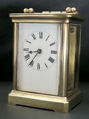 French Antique Carriage Clock - Good working order -