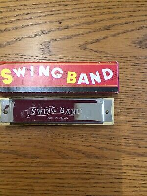 Chadwick-Miller Swing Band vintage harmonica No. 91896, Made In Japan.