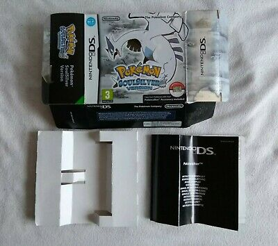 Pokémon Soul Silver Box and Insert Only - Nintendo DS