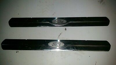 Ford Mondeo Chrome stainless Sill Protectors mk4 07/14