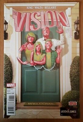 The Vision #1 1St Print 1St Appearance Viv Vision, Death Of Grim Reaper Nm.