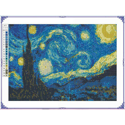 Full Drill 5d Diamond Painting Embroidery Van Gogh Starry Night Cross Stitch Hot