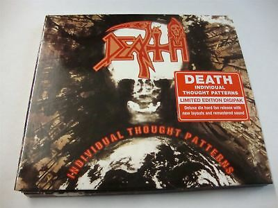 Death - Individual Thought Patterns CD Album Limited Digipack