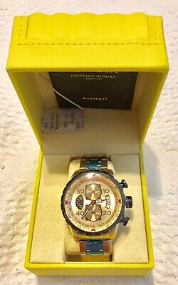 Invicta 17205 Men's Aviator Chronograph 18k Gold Ion-Plated Plated