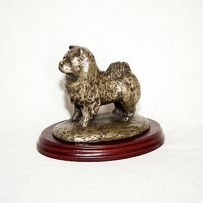 CHOW CHOW  Bronze Figurine. Hand made in England. Ideal gift.