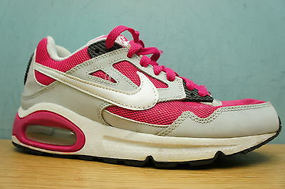 Nike AIR MAX Size 4 UK Ladies Trainers Running Shoes Pink Grey Womens Girls
