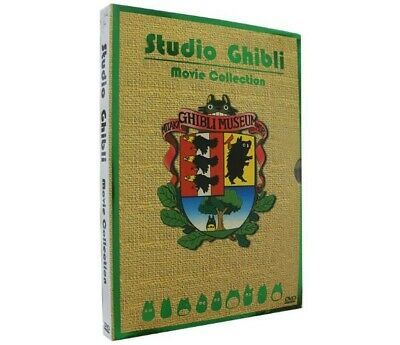 Studio Ghibli Movie Collection (6-Disc Set) DVD New Sealed US Seller Miyazaki