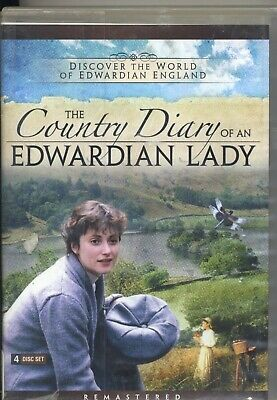 The Country Diary of an Edwardian Lady 4 DVD Set Ex-Library