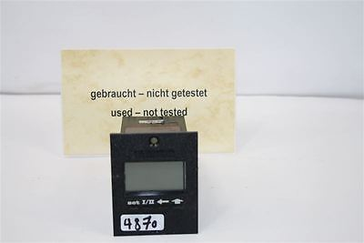 Kuebler 83603 Electronic Control Counter Speedometer Pre-selection Counter