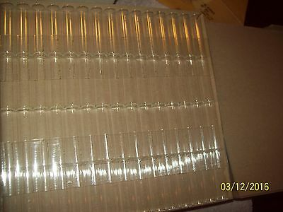 Vtg Carolina Biological Lot of 60 Glass Tubes for Science Labs Experiments-New