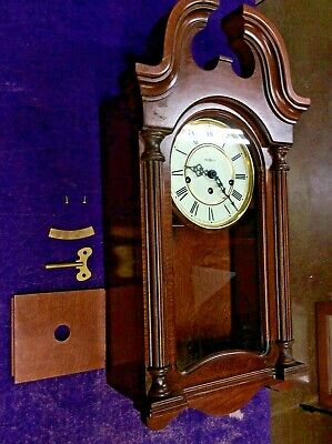 Beautiful Howard Miller 613-227 Key Wound Westminster Chime Wall Clock