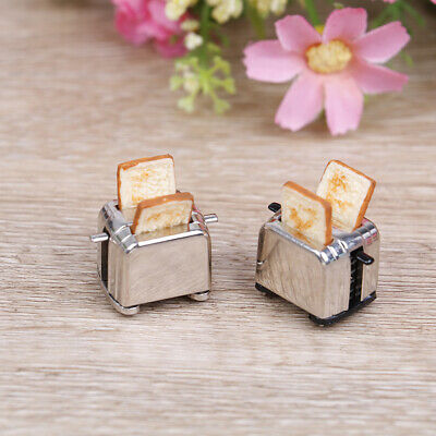 1:12 Dollhouse mini bread machine simulation miniature model toy~