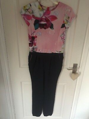 Ted Baker jumpsuit age 12 worn once , very pretty , perfect condition