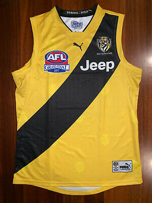 Richmond Tigers Repro 2017 Grand Final GF Guernsey Jumper Jersey Extra Large