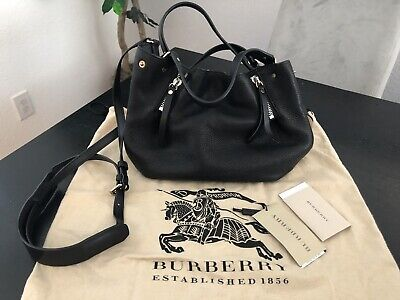 9a855f9566 NWT AUTHENTIC BURBERRY Small Maidstone Leather Shoulder Bag Retail ...