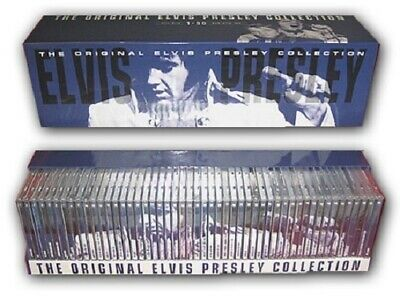 ORIGINAL ELVIS PRESLEY COLLECTION 50 CD BOXSET_Hi-Res Audio USB Drive Package!!!