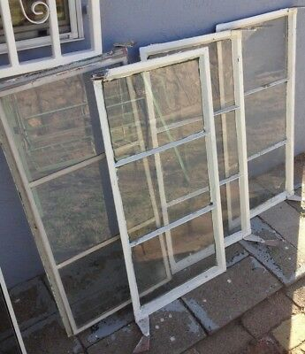1958 Original 3-Pane Vintage Windows from El Paso, Texas - Home - Metal Frame
