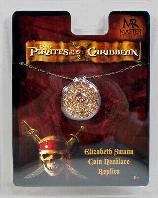 PIRATES OF the CARIBBEAN ELIZABETH SWANN NECKLACE COSTUME Prop Master Replicas