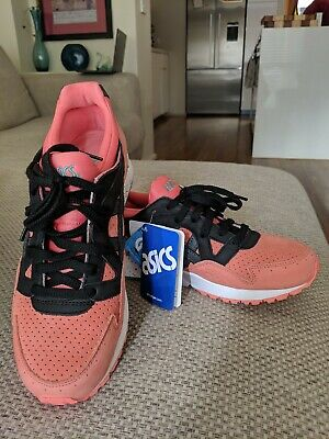 Asics Gel-Lyte V 'Miami Pack' unisex sneaker shoes trainers in coral/black