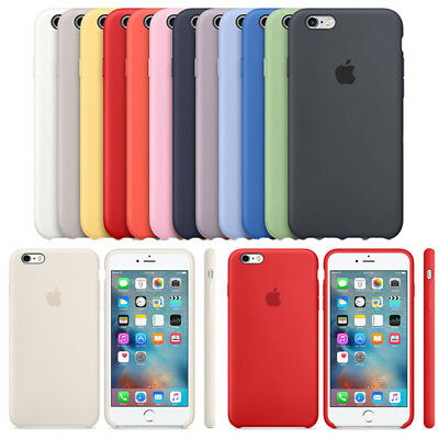 For Apple iPhone XS Max XR 8 7 6 Plus Soft Silicone OEM Original Case Cover Back