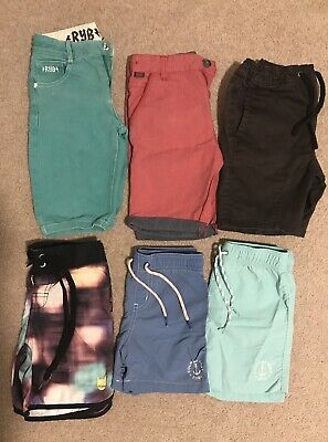 6 Pairs Boys shorts Size 6 - Country Road, Rock Your Kid, Munster Etc