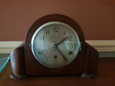 Antique Westminster Chime Mantle Clock