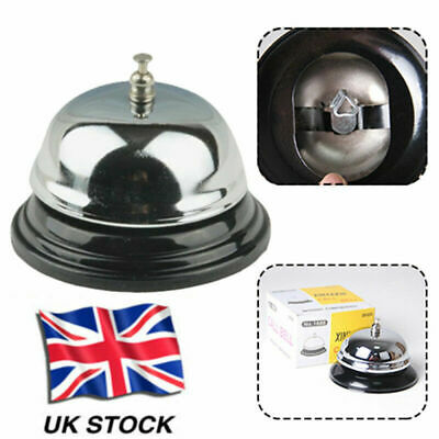 Restaurant Kitchen Service Steel Bell Ring Reception Desk Call Ringer Newest