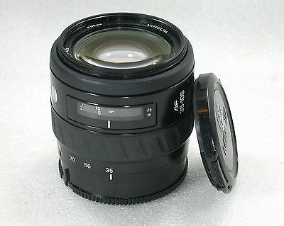 Minolta AF 35-105mm F/3.5( 22 )-4.5 Zoom Lens- Dynax/MAXXUM and Fits Sony DSLRs