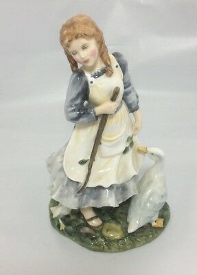 ROYAL DOULTON figurine ' The Goose Girl ' HN2419 ornament 1st Quality Limited E*