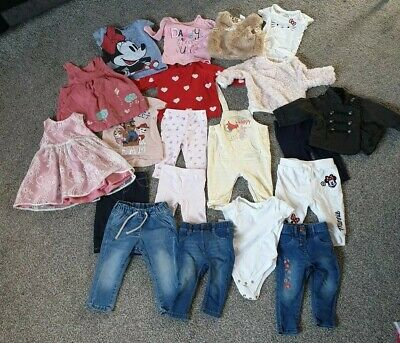 girls Beautiful clothes bundle 3-6 months next, h&m, river island, Disney, m&s