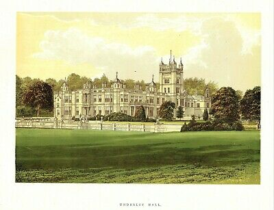 Underley Hall, Near Kirkby Lonsdale, Westmorland - Seat of Earl Bective - WB Eng