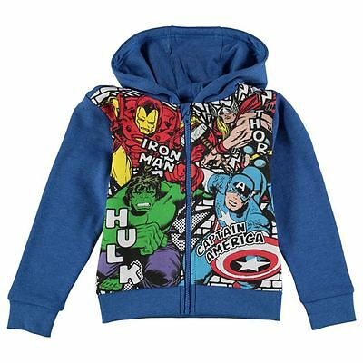MARVEL AVENGERS:NEW FULL ZIP FLEECE 13YR,NEW WITH TAGS 2//3YR