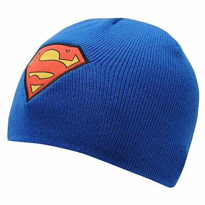 Superman Beanie Hat,Onesize, 3-8Yr Approx,New With Tags