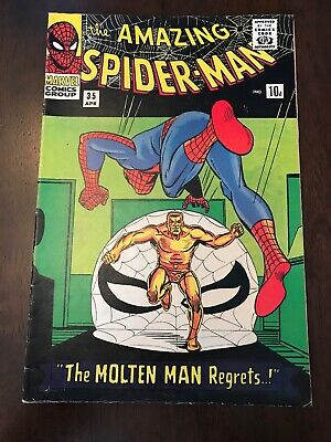 The Amazing Spider-man #35 Silver Age Marvel Comics