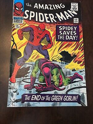 The Amazing Spider-man #40 Green Goblin Silver Age Marvel Comics