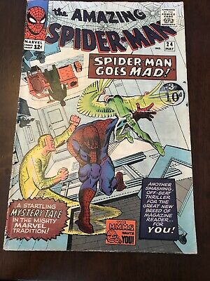 The Amazing Spider-man #24 Silver Age Marvel Comics