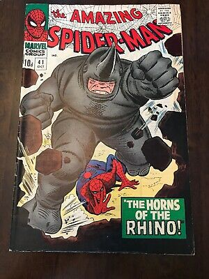 The Amazing Spider-man #41 Silver Age Marvel Comics