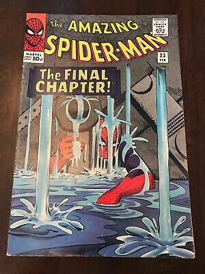 The Amazing Spider-man #33 Silver Age Marvel Comics